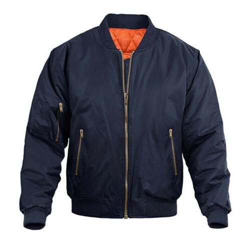 Men's Jacket Windproof Padded
