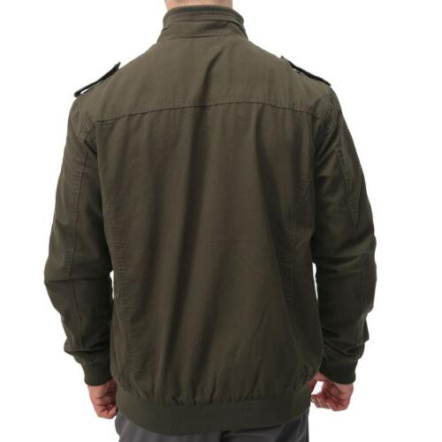 Men's Cotton Army Field Training Jacket