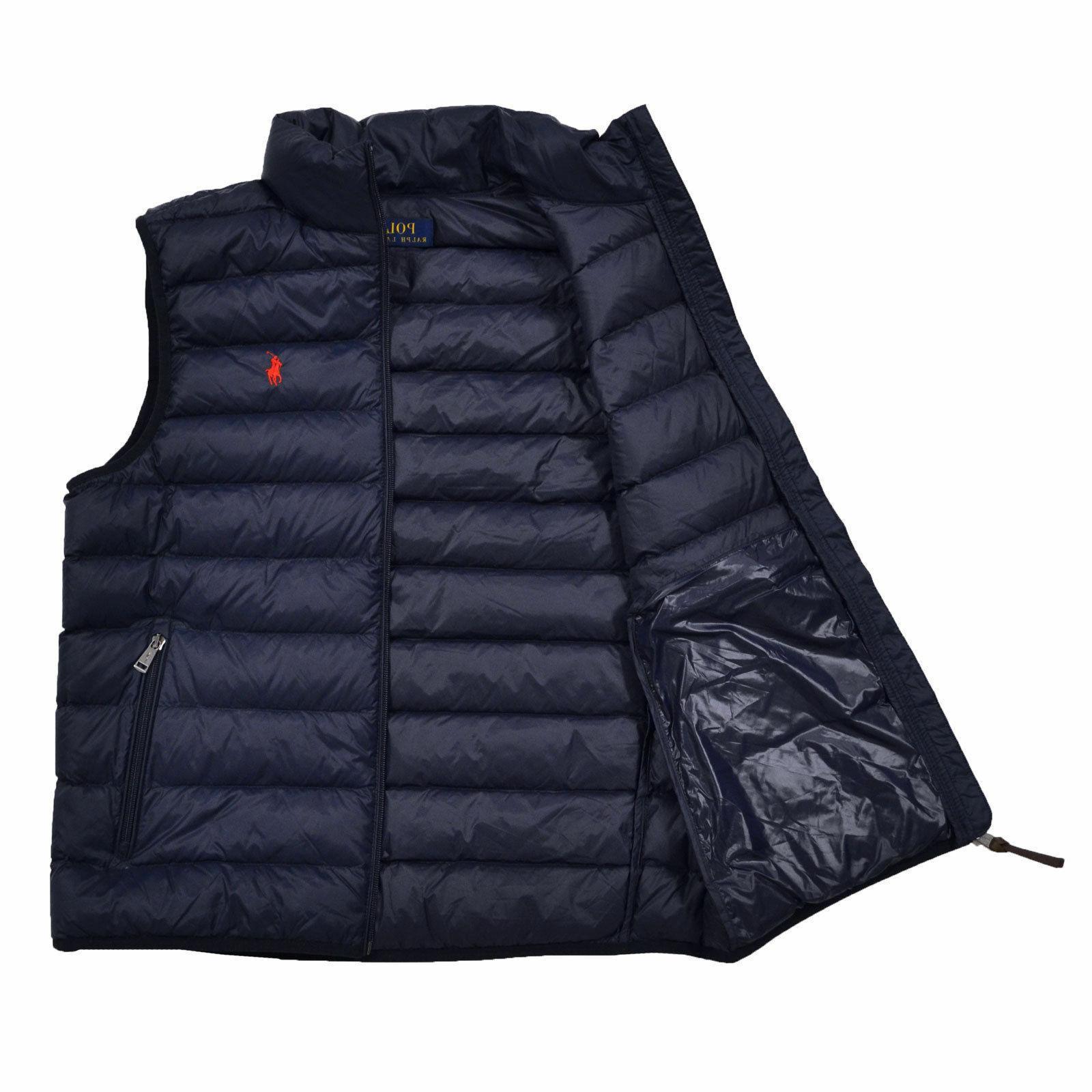 Men DOWN Vest Jacket Size M XXL