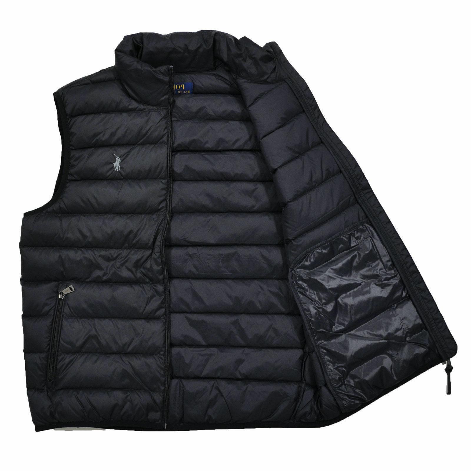 Men DOWN Puffer Vest Jacket Packable M L XL