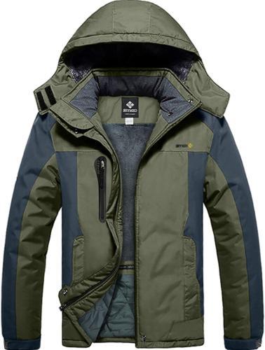 men s mountain waterproof ski snow jacket