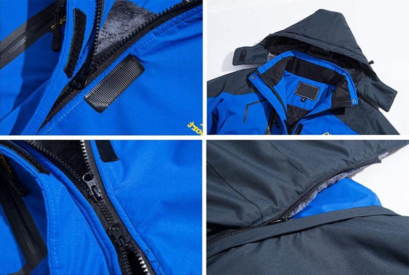 TACVASEN Snow Jacket Fleece Liner