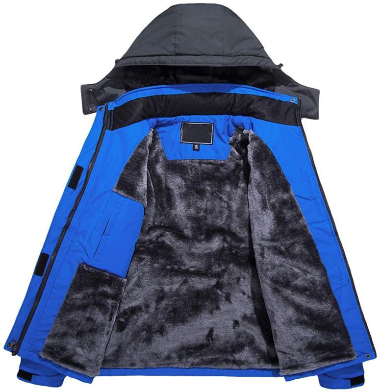 TACVASEN Waterproof Snow Jacket Liner Jacket