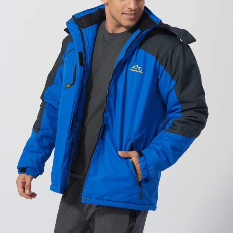 TACVASEN Men's Snow Windproof Liner Jacket