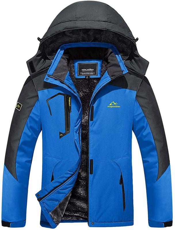 men s waterproof ski snow jacket windproof