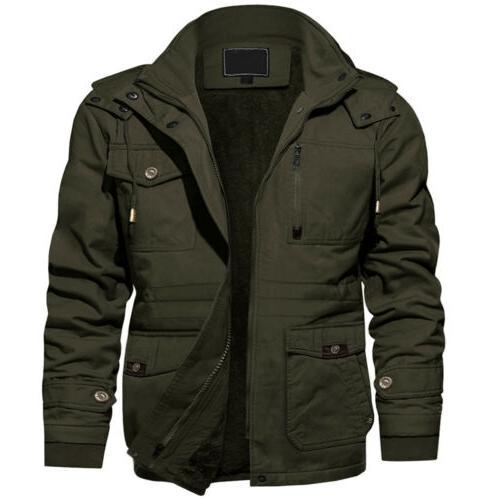 Men's Jacket Lined Coat
