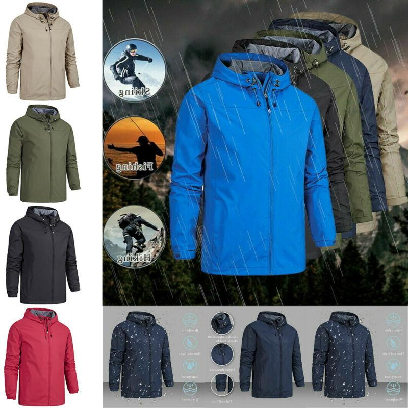 Winter Waterproof Outdoor Hooded Jacket
