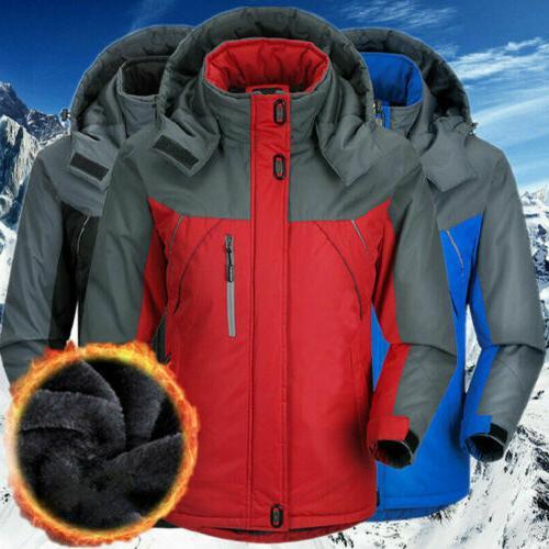 men s winter warm ski jacket snow