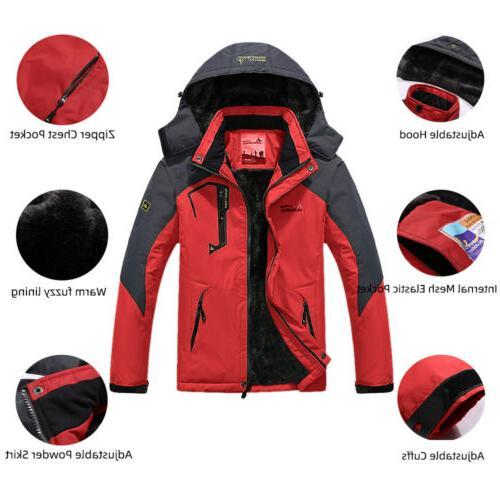Men's Winter Jacket Windbreaker Warm Ski