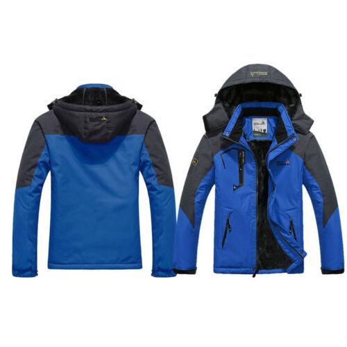 Men's Winter Jacket Windbreaker Warm Hiking Ski Outerwear Coat