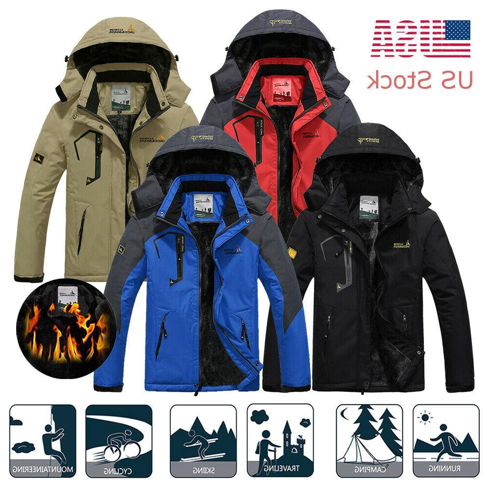 men s winter waterproof snow jacket windbreaker