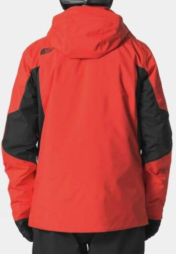 THE NORTH FACE Clement Ski Parka L in 1 Fiery Black