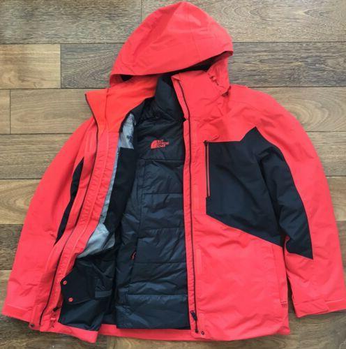 mens clement triclimate jacket ski parka l