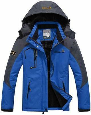 mens mountain waterproof ski snow coat jackets