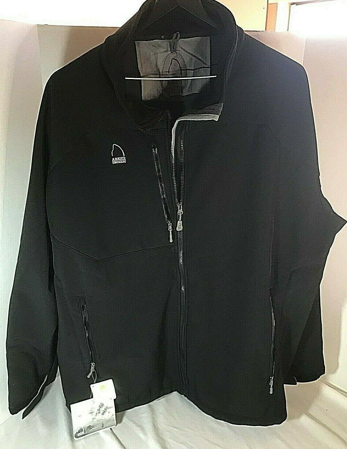 mens nwt bullseye jacket black 4xl winter