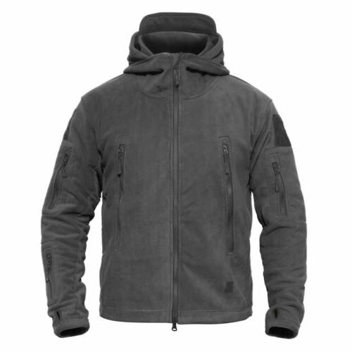 Mens Outdoor Winter Tactical Army Jacket Windproof