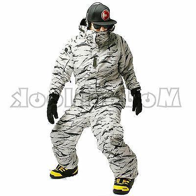 mens southplay winter premium white camo military