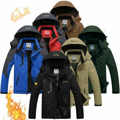 mens winter mountain jacket ski coats waterproof