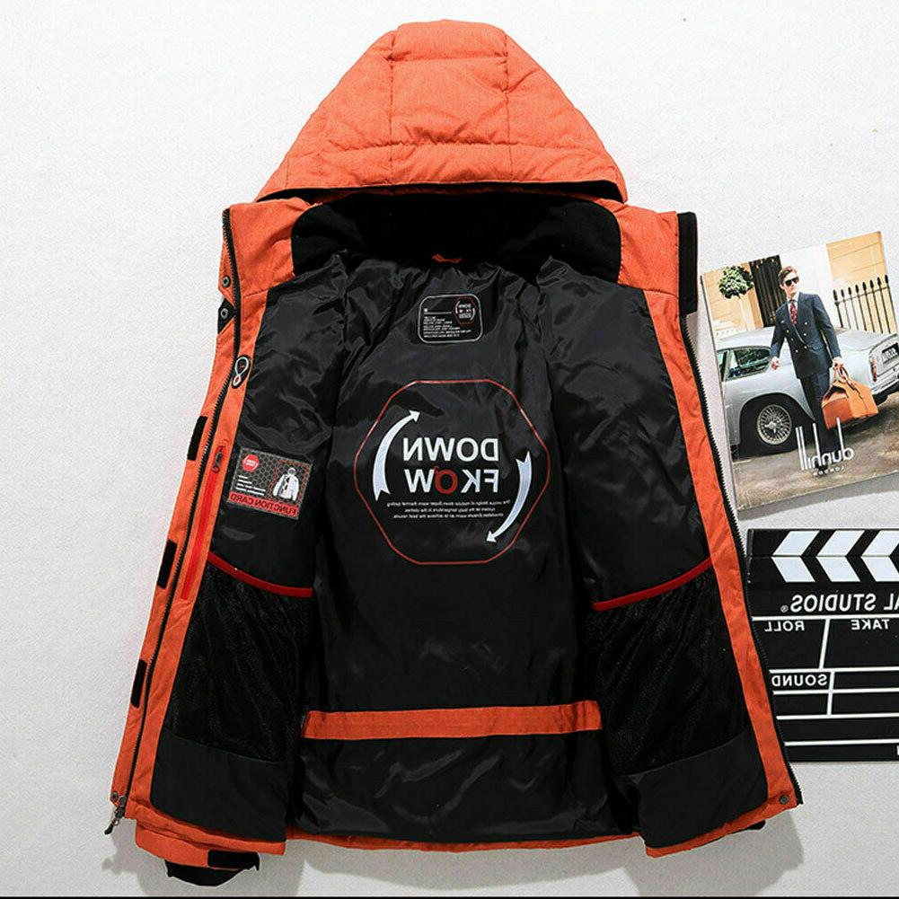Down Snow Hooded Coat Parka