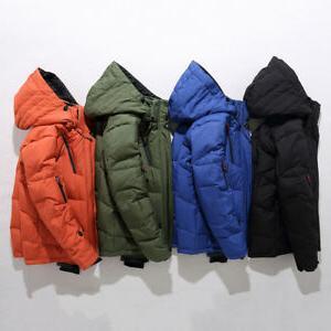 Mens Down Jacket Jacket Snow Thick Coat