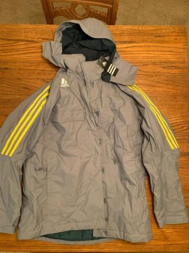 mens zip ski jacket m