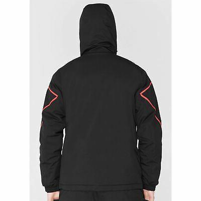 Nevica Meribel Ski Mens Black/Red Coat Top Outerwear