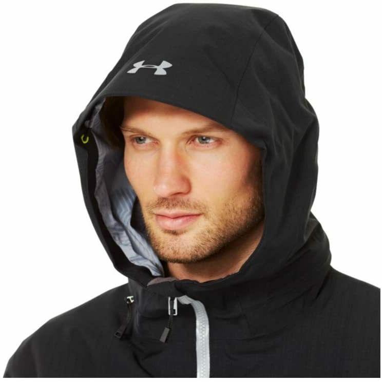 New Black Under Coldgear Storm Jacket $299