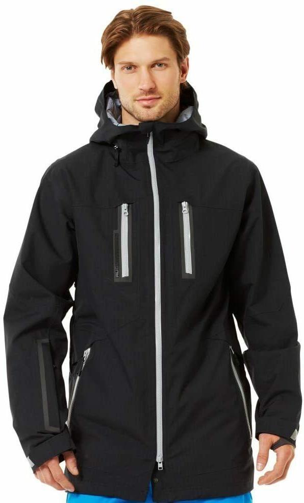 new black coldgear storm ski snowboard jacket