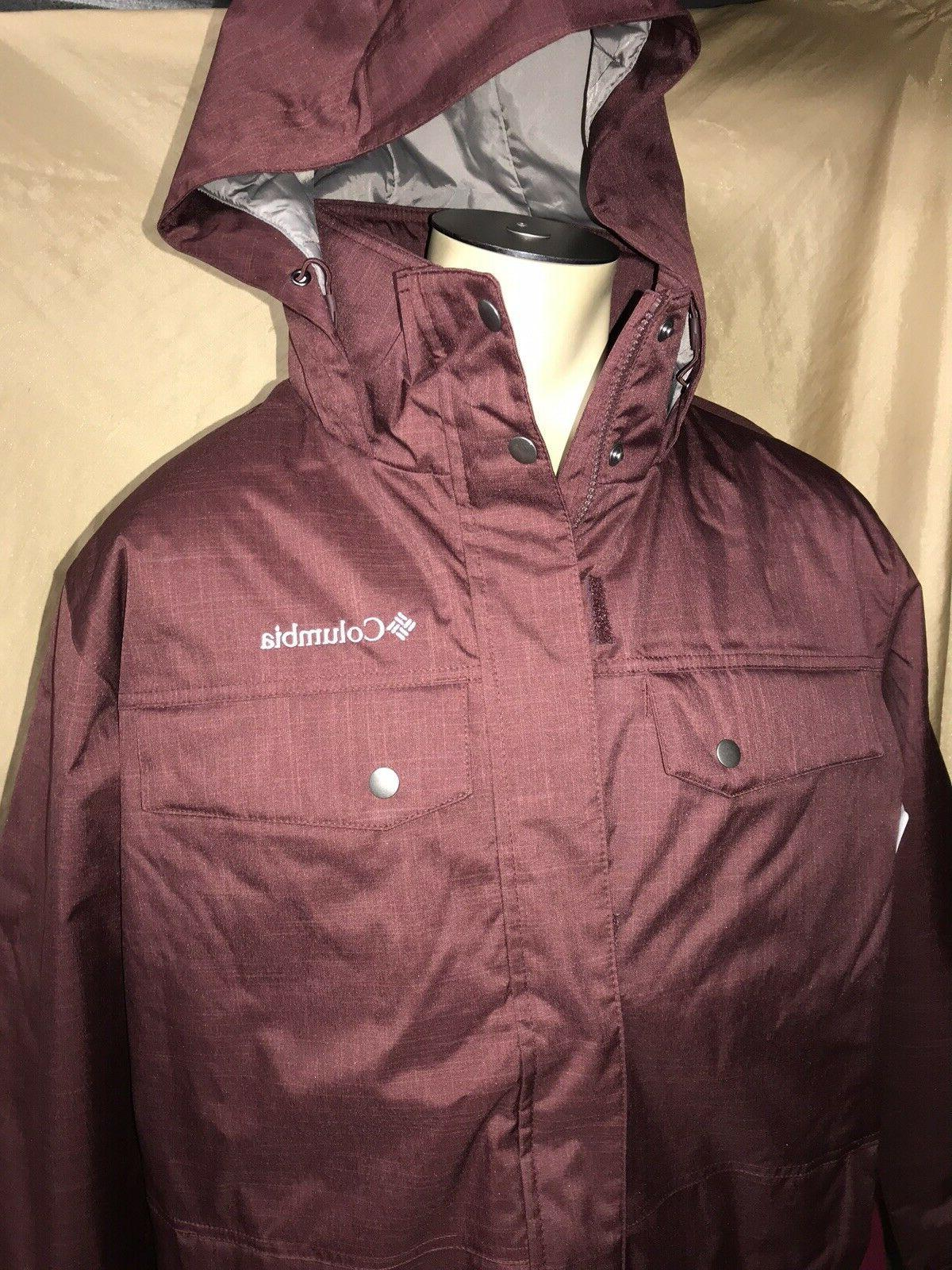 nwt mens large thermal coil interchange jacket