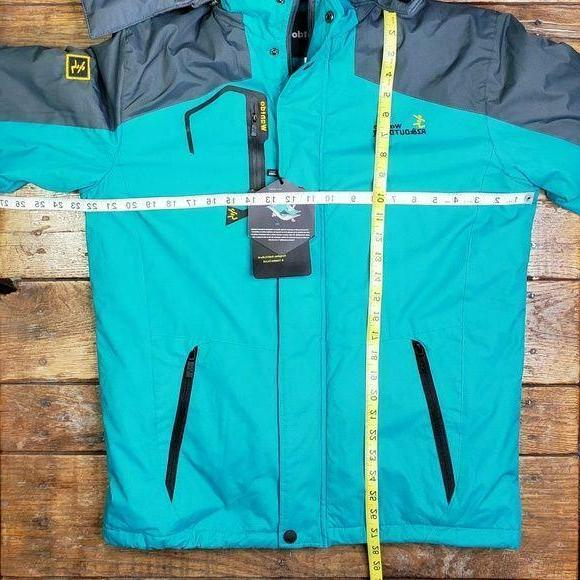 NWT Ski Jacket Hood Small Faux