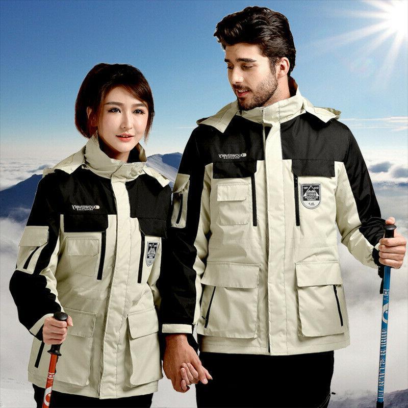outdoor jacket men women three in one