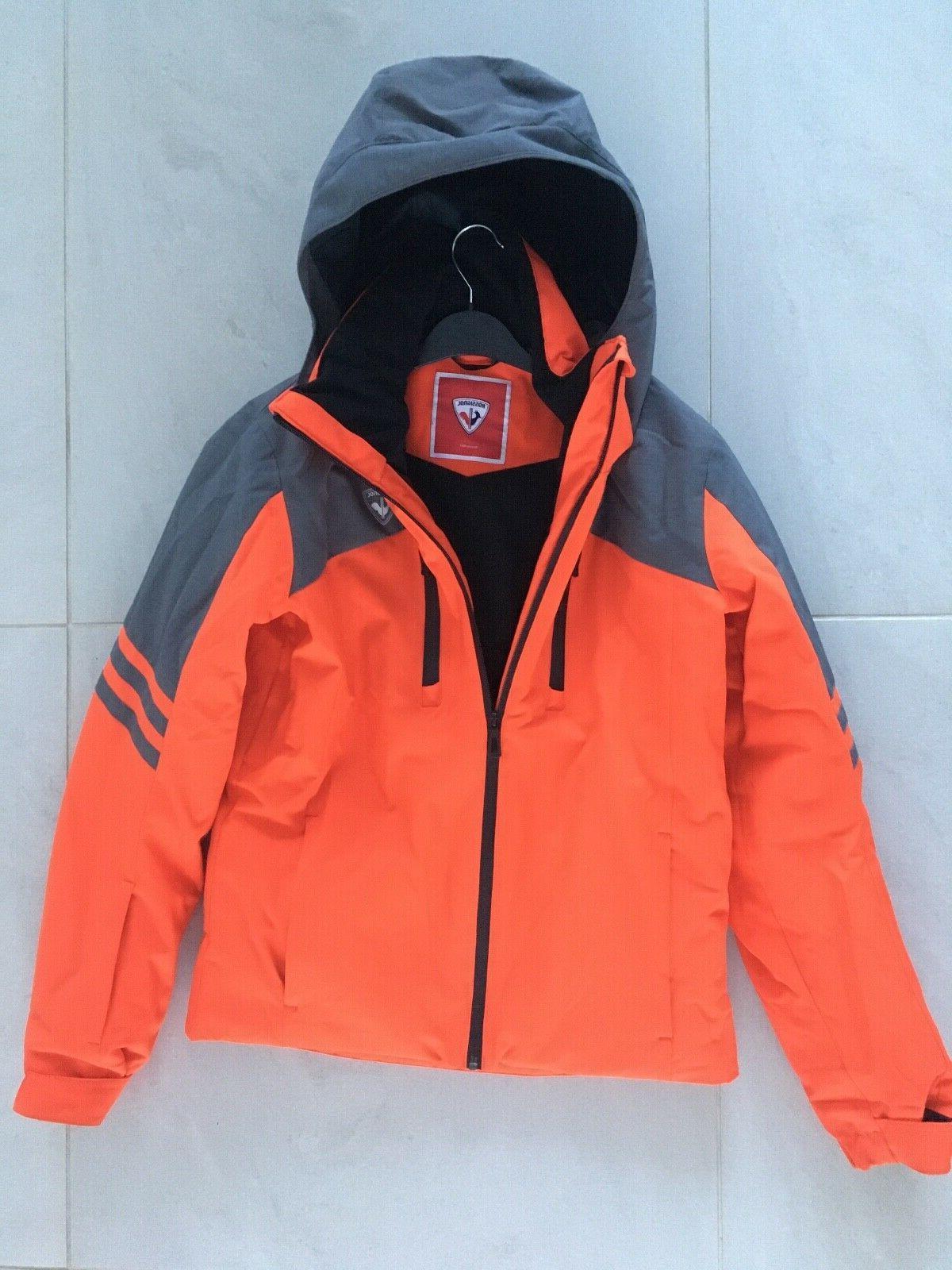 rossignol child ski jacket age 16 orange