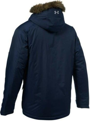 SZ Under Storm Coldgear Reactor Blue Jacket Men's