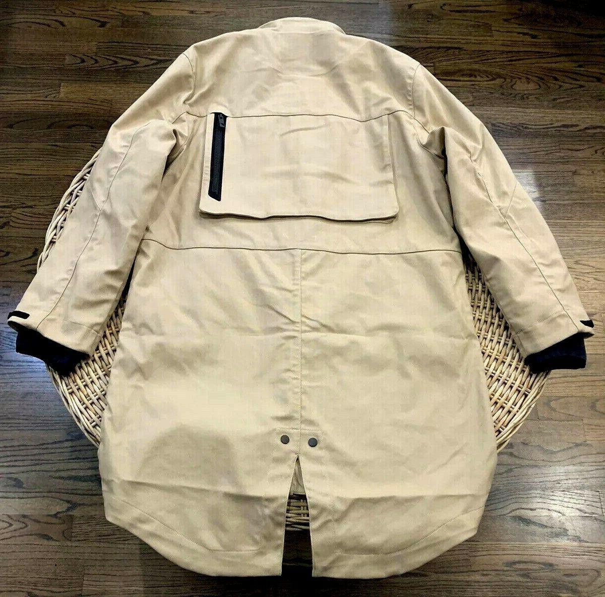 Under Armour Washed Parka Jacket 1316046 Size Large