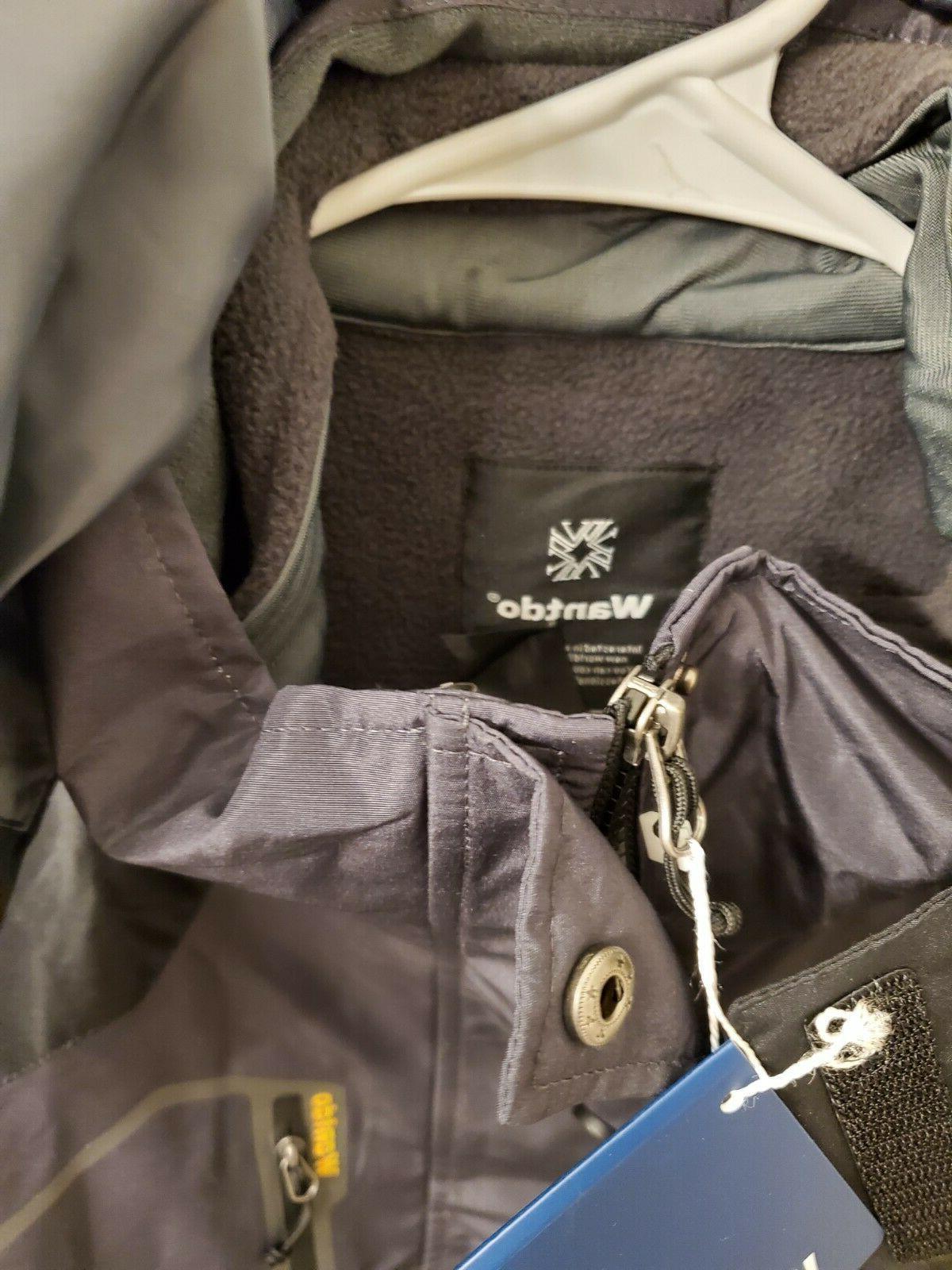 Wantdo Men's Mountain Jacket Size
