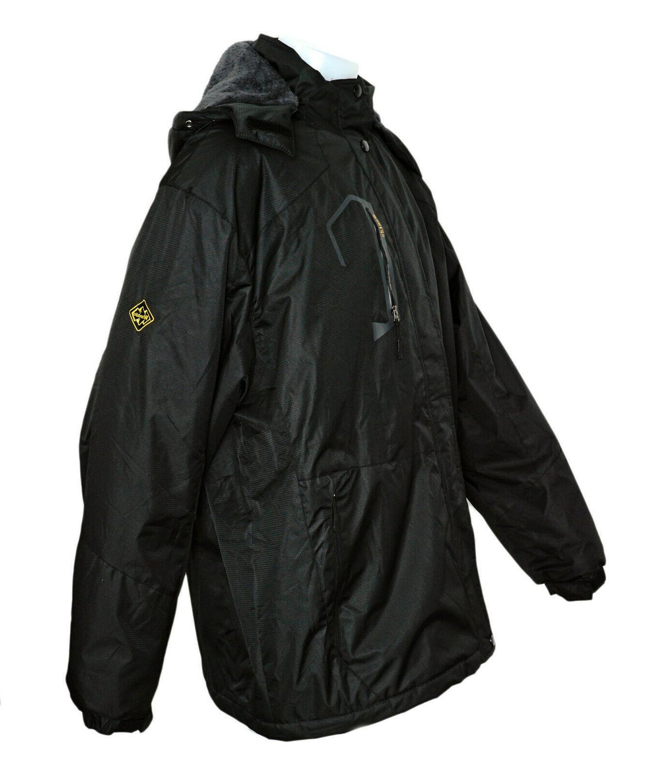 WANTDO Waterproof Jacket Fleece Windproof Rain XXXL