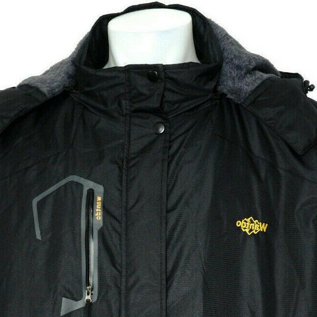 WANTDO Men's Jacket Windproof Rain