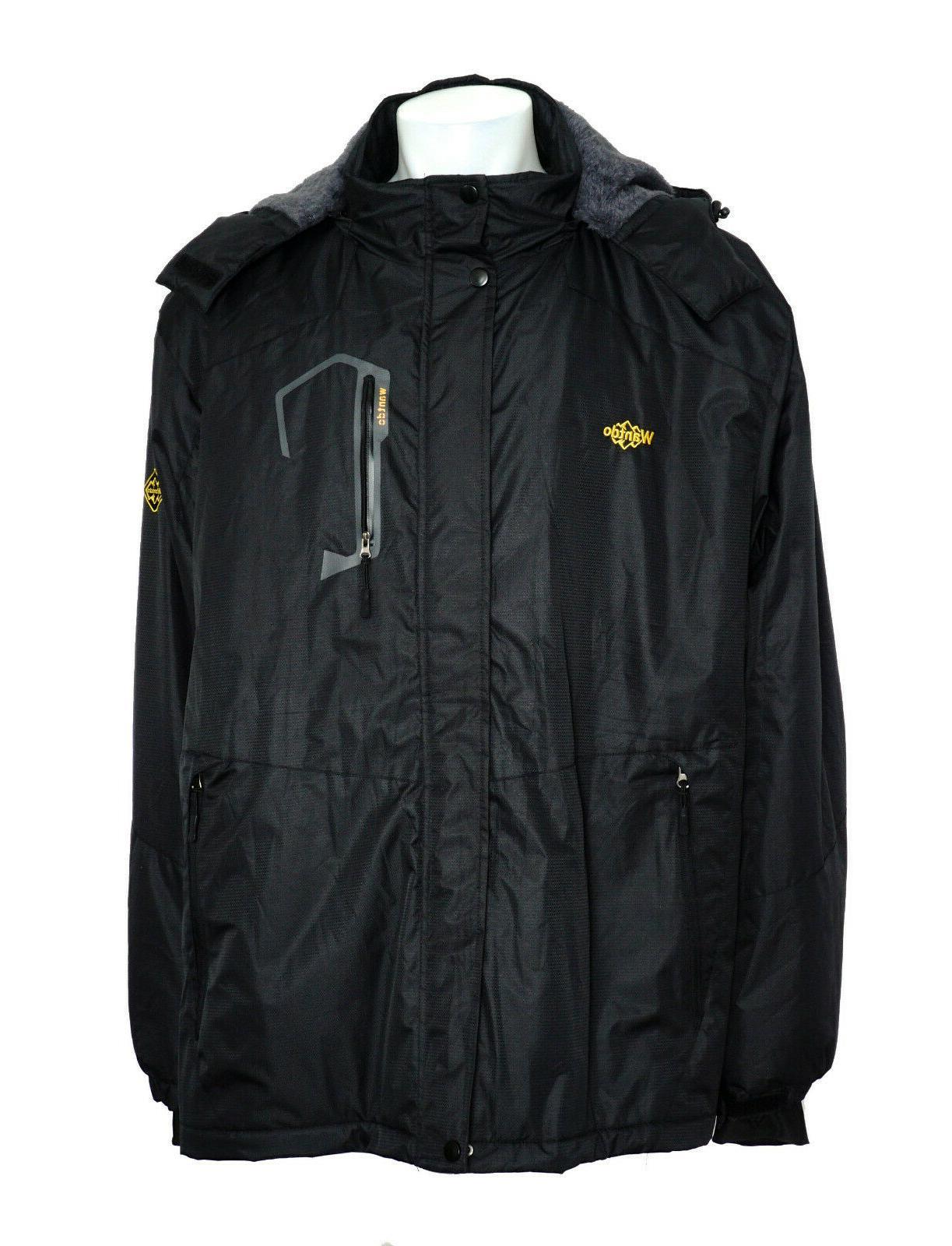wantdo men s ski jacket fleece winter