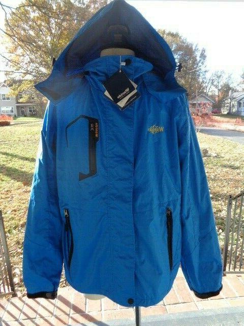 windproof breathable zip ski jacket men s