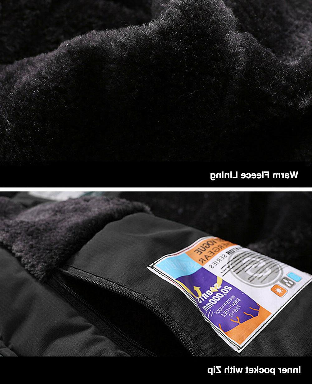 TACVASEN Winter Fleece Jacket SKi Snowboard Thermal Coats