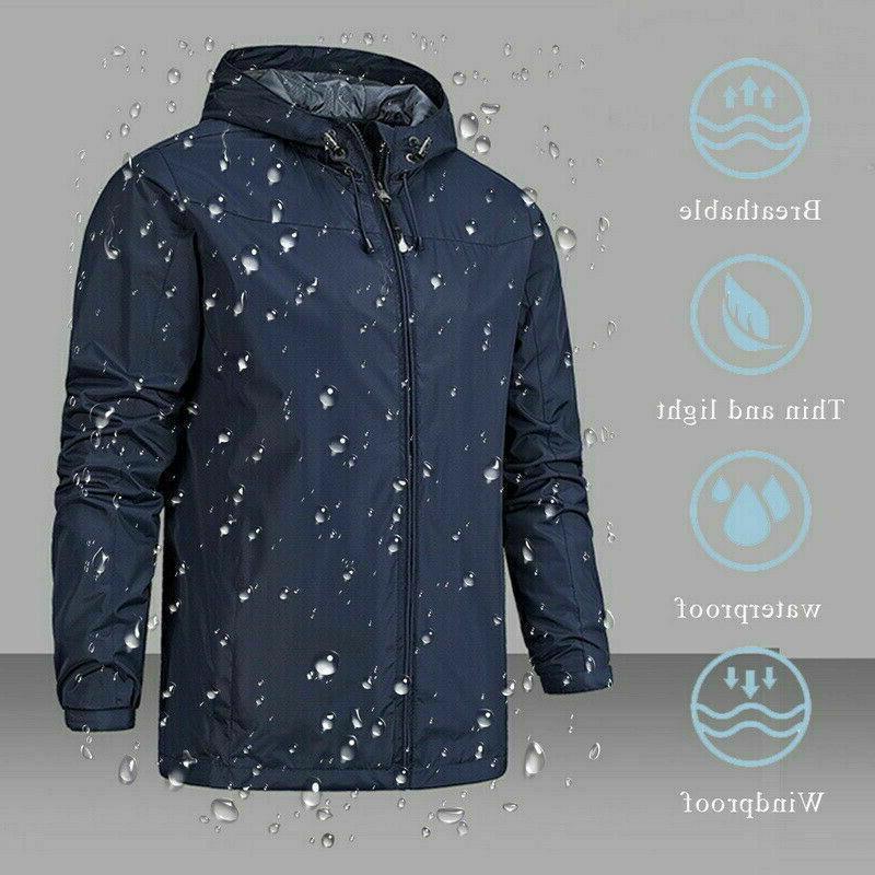 Winter Outdoor Hiking Hooded Jacket Outdoor