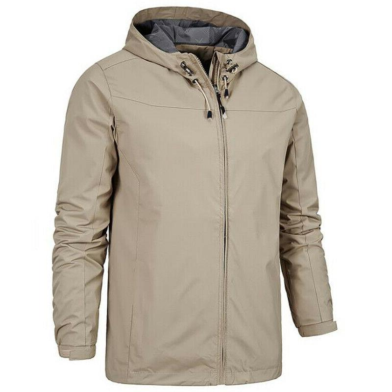 Winter Men's Outdoor Hooded Jacket Outdoor