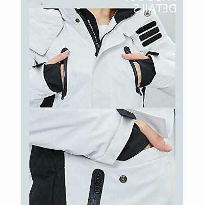 HSW Women Jacket Girl Winter Outdoor Jacket for