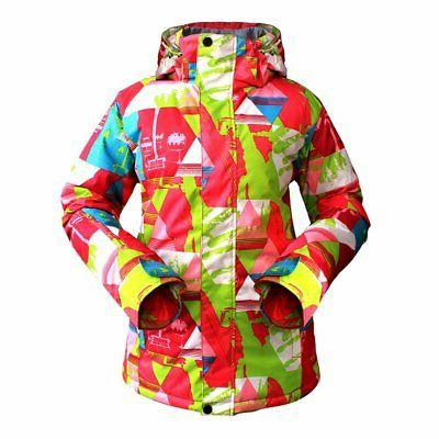 Women Snowboard Coat Jacket Warm Outdoor