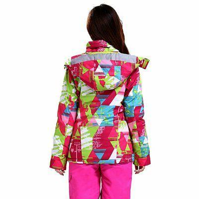 Women Windproof Snowboard Coat Warm