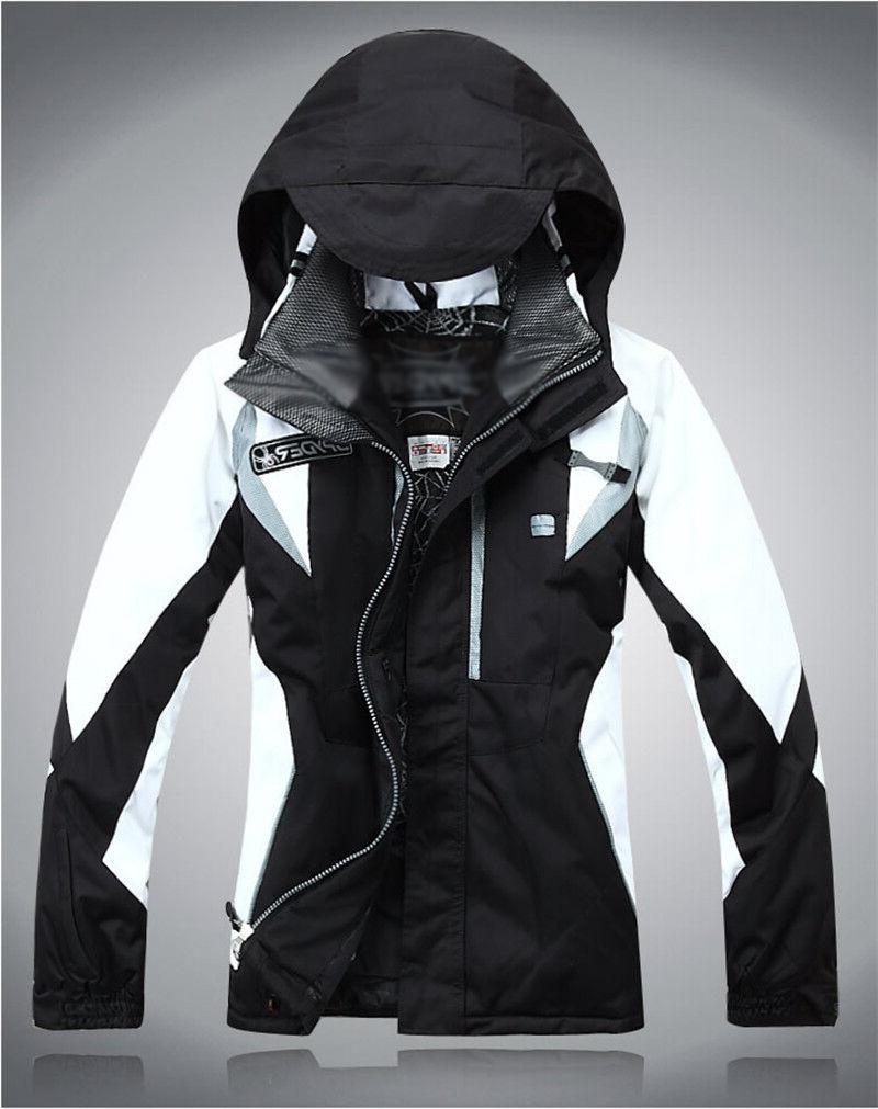 womens hooded warm ski coat winter zipper
