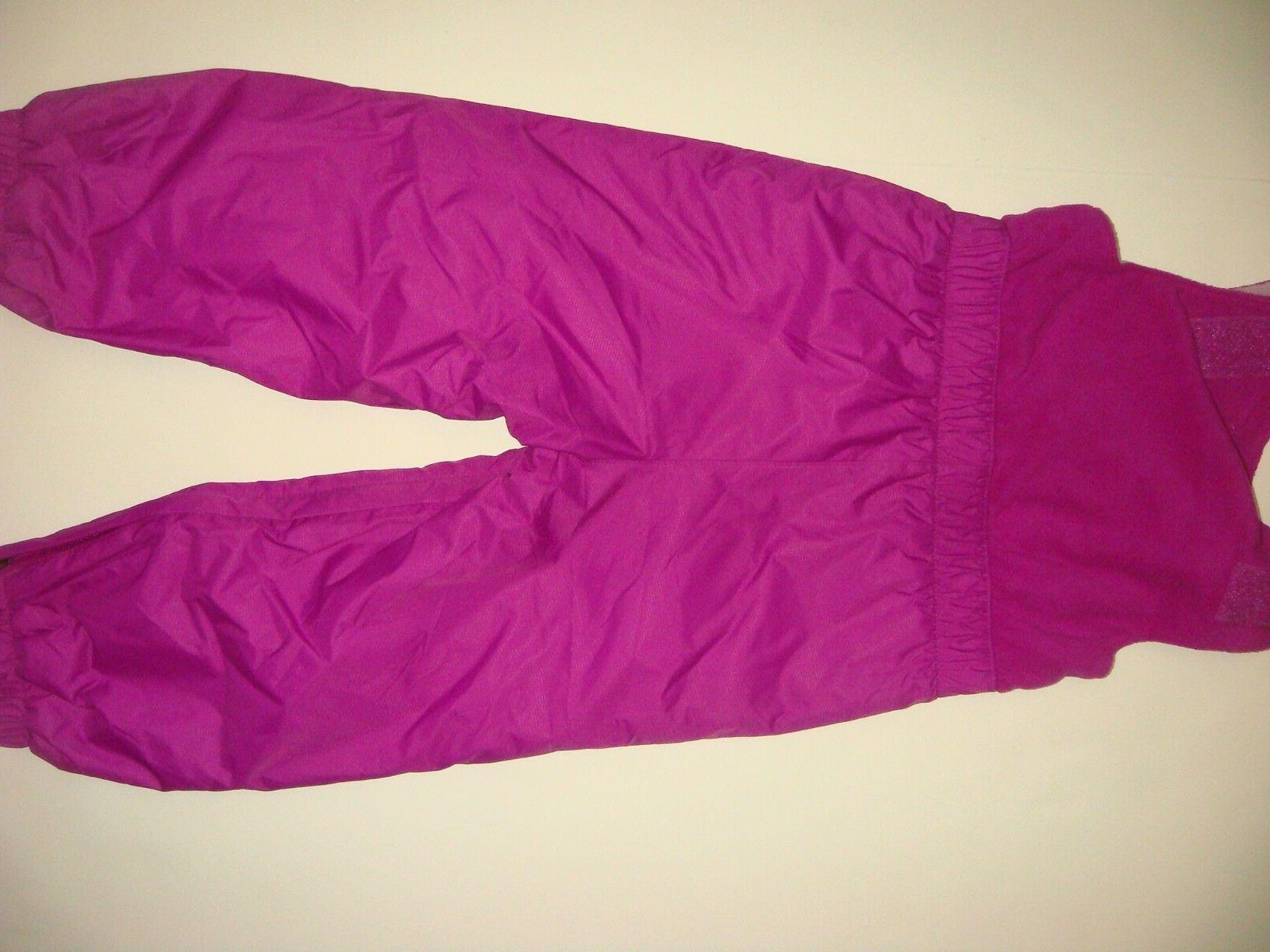 COLUMBIA SNOW jacket reversible+bib PURPLE lilac $130+