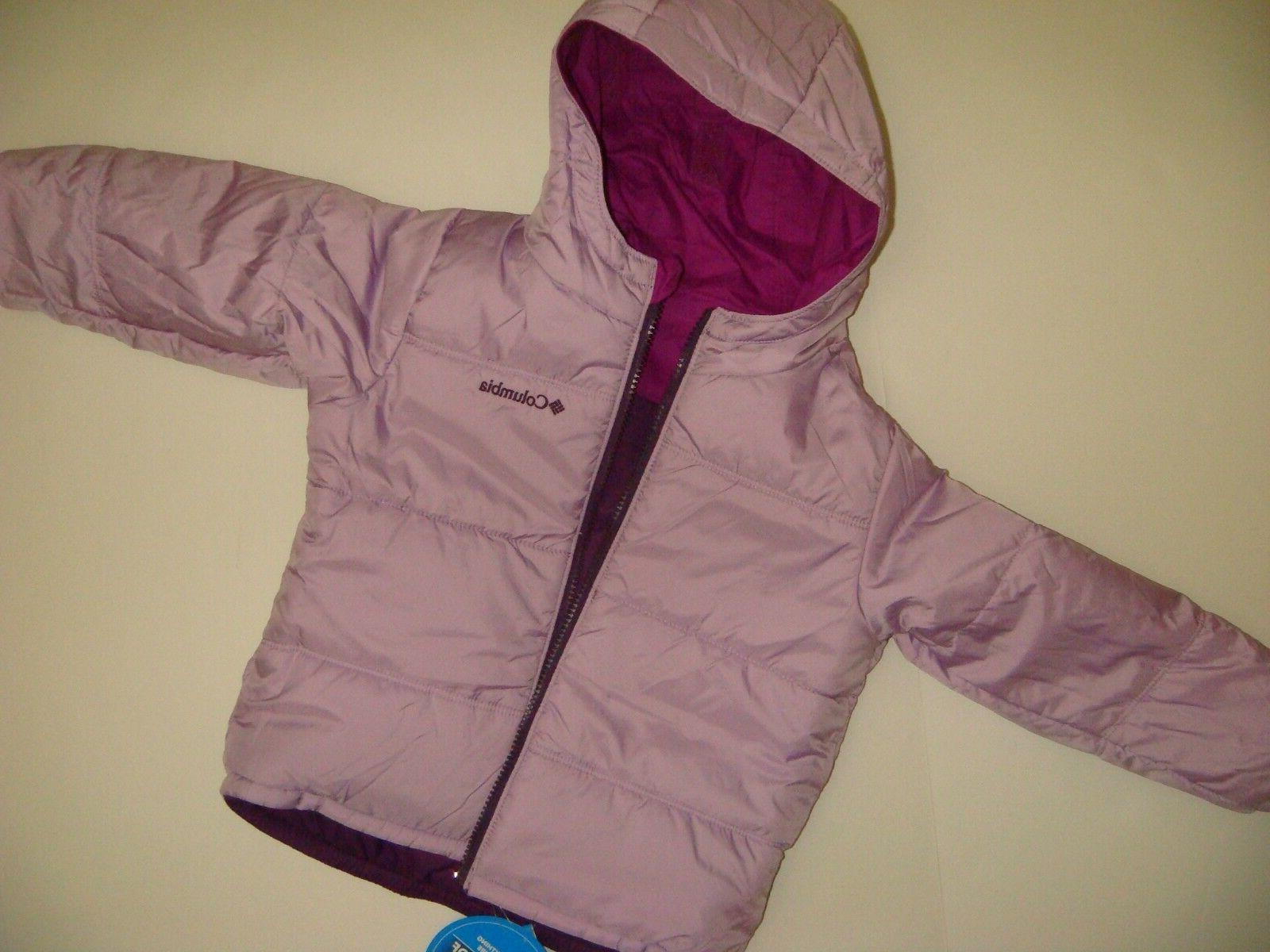 COLUMBIA GIRLS SKI SNOW PURPLE lilac 4T