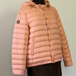 M L BERNARDO PRIMALOFT Packable Women Down Coat Jacket Parka