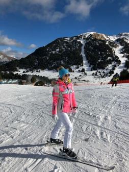 Bogner Mauna T insulation Women's ski jacket pink size M E
